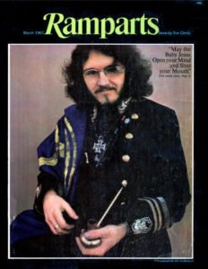 Ramparts Magazine Cover of Stanley Mouse March 1967